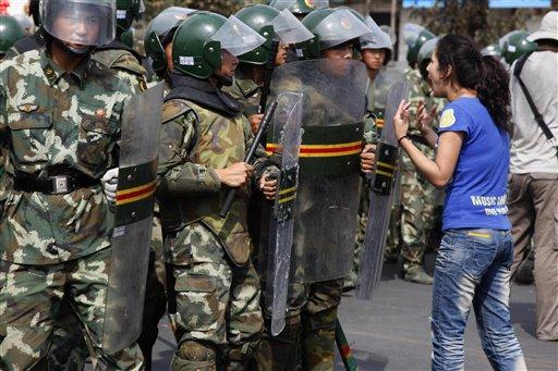 Uyghur Protestor Challenges The Oppressors