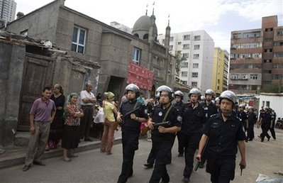 China's Jack-Booted Thugs Closed Mosques Today