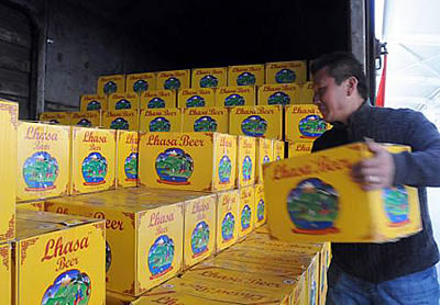 Lhasa Beer To Increase Production to 200,000 tons