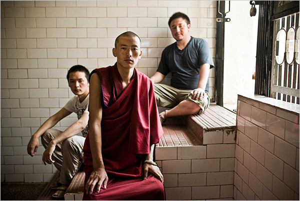 Three Tibetan Monks Who Fled Tibet After The Uprisings of 2008