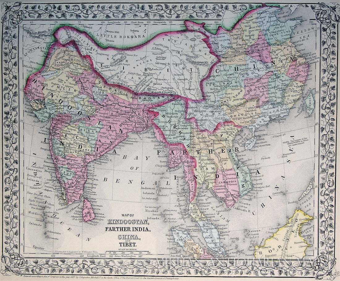 Map Of Asia 1950.Maps Of Tibet Tibet Activism And Information
