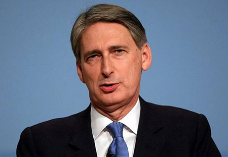 Philip Hammond Head Of UK's Foreign Office