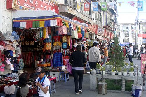 Downtown Lhasa