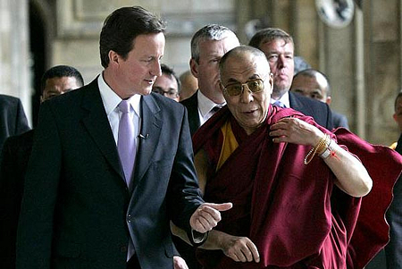 British PM Cameron No Real Friend of Tibet