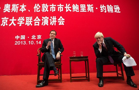 Cameron's Buddies On Recent China Trip Seeking Investment Not Human Rights