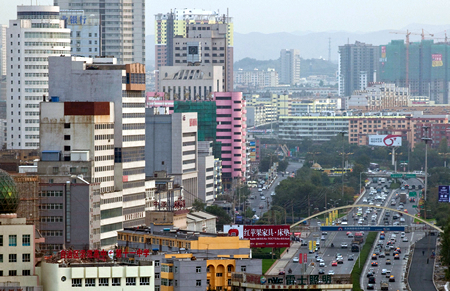 Downtown Urumchi