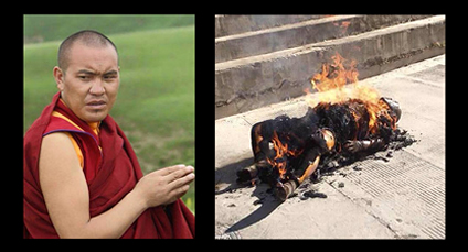 Kalsang Yeshi Died Following Self-Immolation Against China's Illegal & Violent Occupation Of Tibet