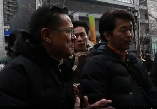 These prominent rally organizers refused to allow Tibet freedom placards/slogans