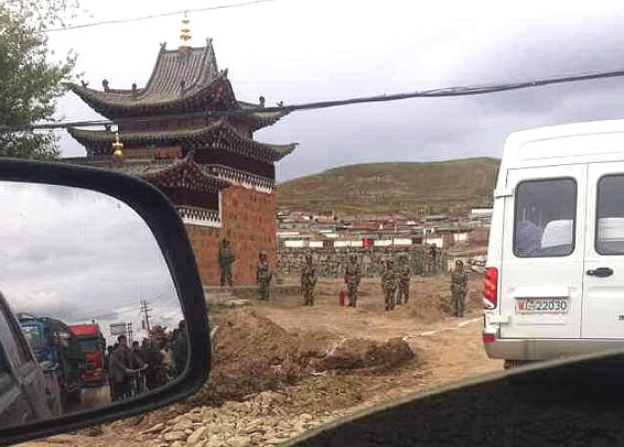 Another Tibetan monastery placed under military siege by China's regime