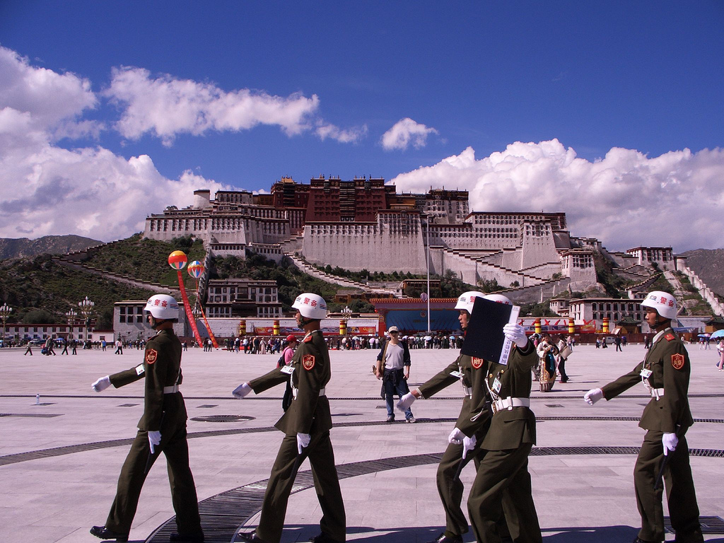 a look at the occupation of china on tibet Given this fact, the chinese have to insist that tibet has always been part of china, because if they ever admit the contrary, they know only too well that they can be accused of imperialism in the occupation and subjugation of tibet.