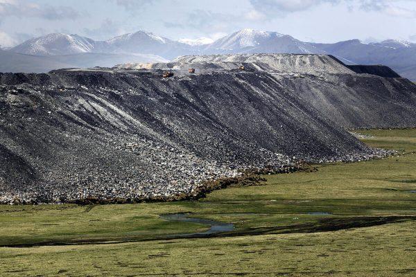 Tibet Mining Waste