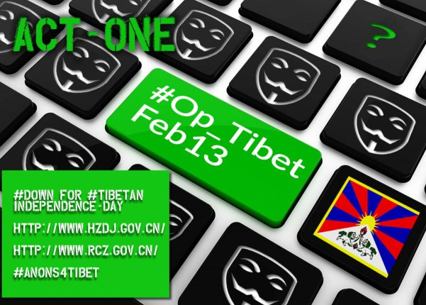 Operation Tibet Action Launched