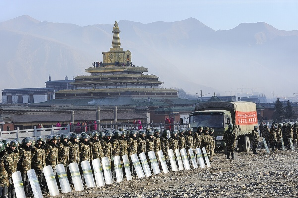 Tibet Under Military Occupation
