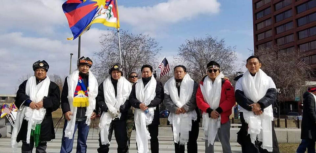 The Magnificent Seven On The March For Tibet
