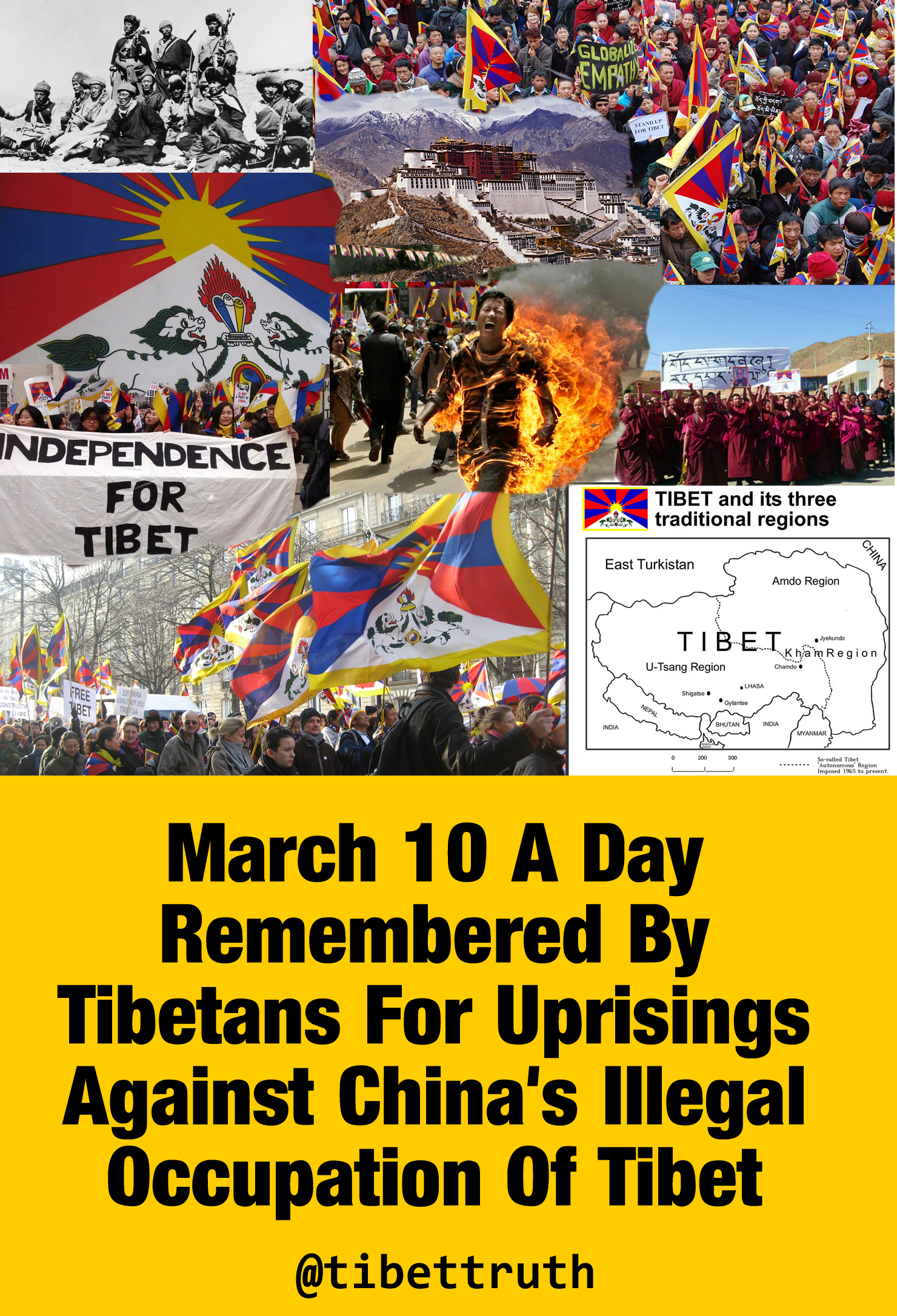 March 10 Action For Tibet At Your Fingertips