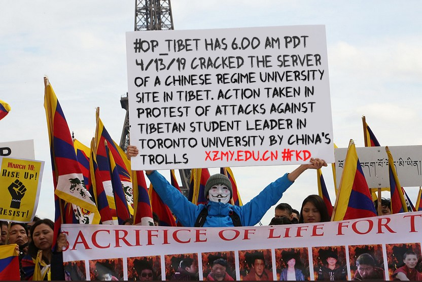 Anonymous Crash Inside Tibet A Chinese Propaganda College Site