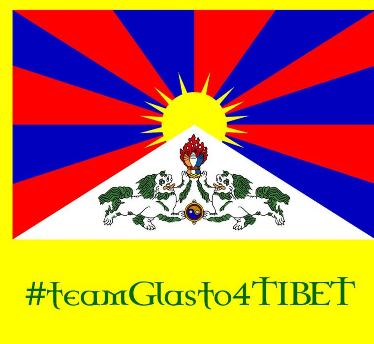 Tibet's National Flag Will Fly Across Glastonbury Festival