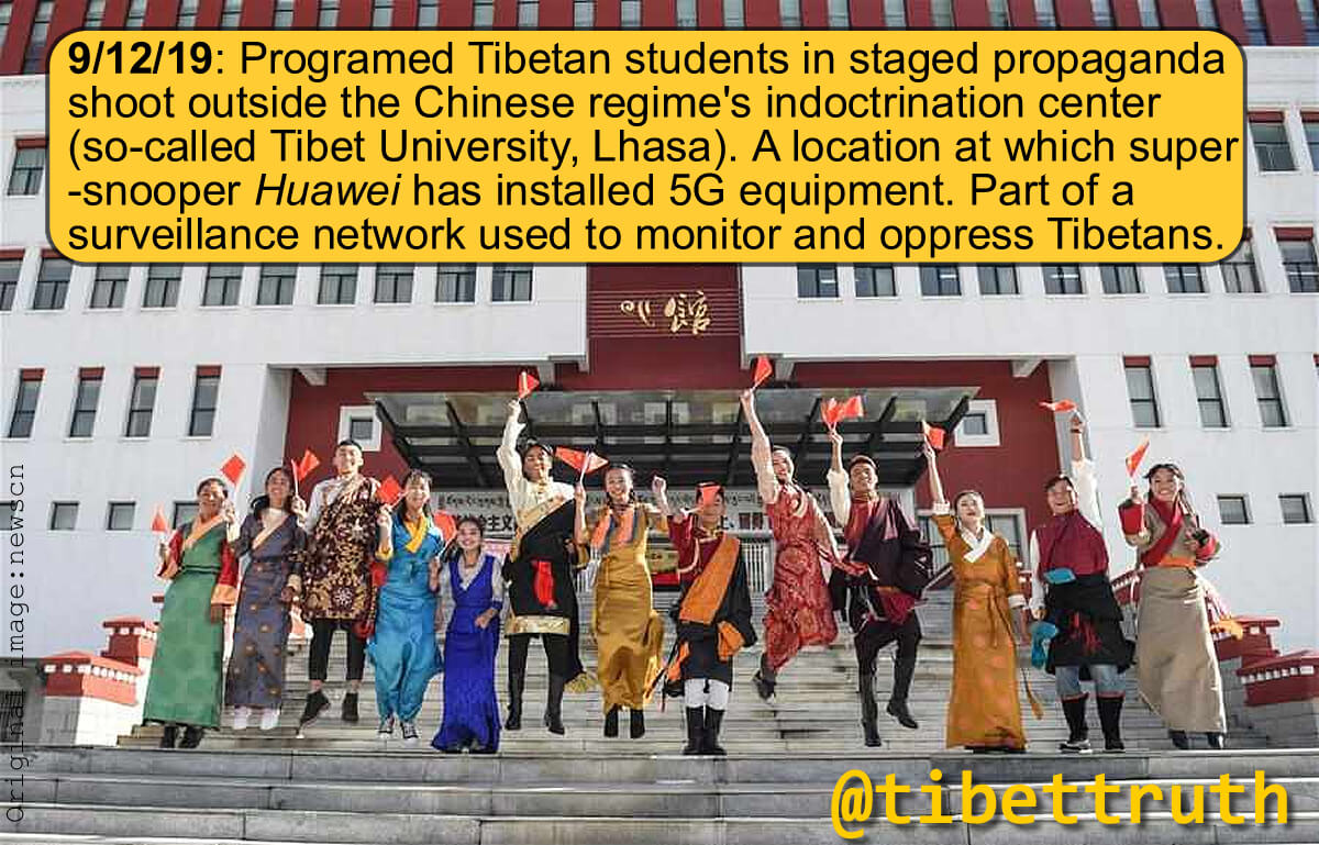 Faked Smiles Cannot Conceal Chinese Tyranny In Tibet