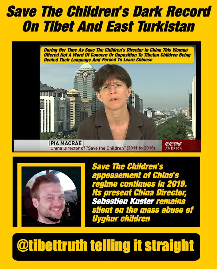 Save The Children's Dark Record On Tibet And East Turkistan