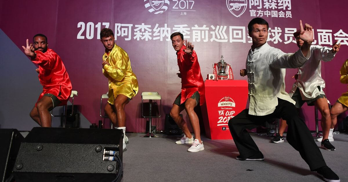 Arsenal FC And English Premier League In The Pocket Of China's Regime