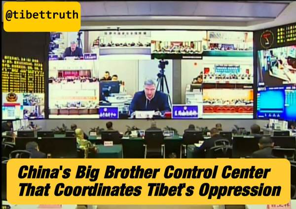 The Big-Brother Command Center Which Coordinates Tyranny Over Tibet