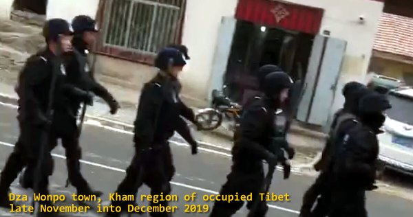 Tibetan Town Placed Under Paramilitary Occupation For Unauthorized Internet Use