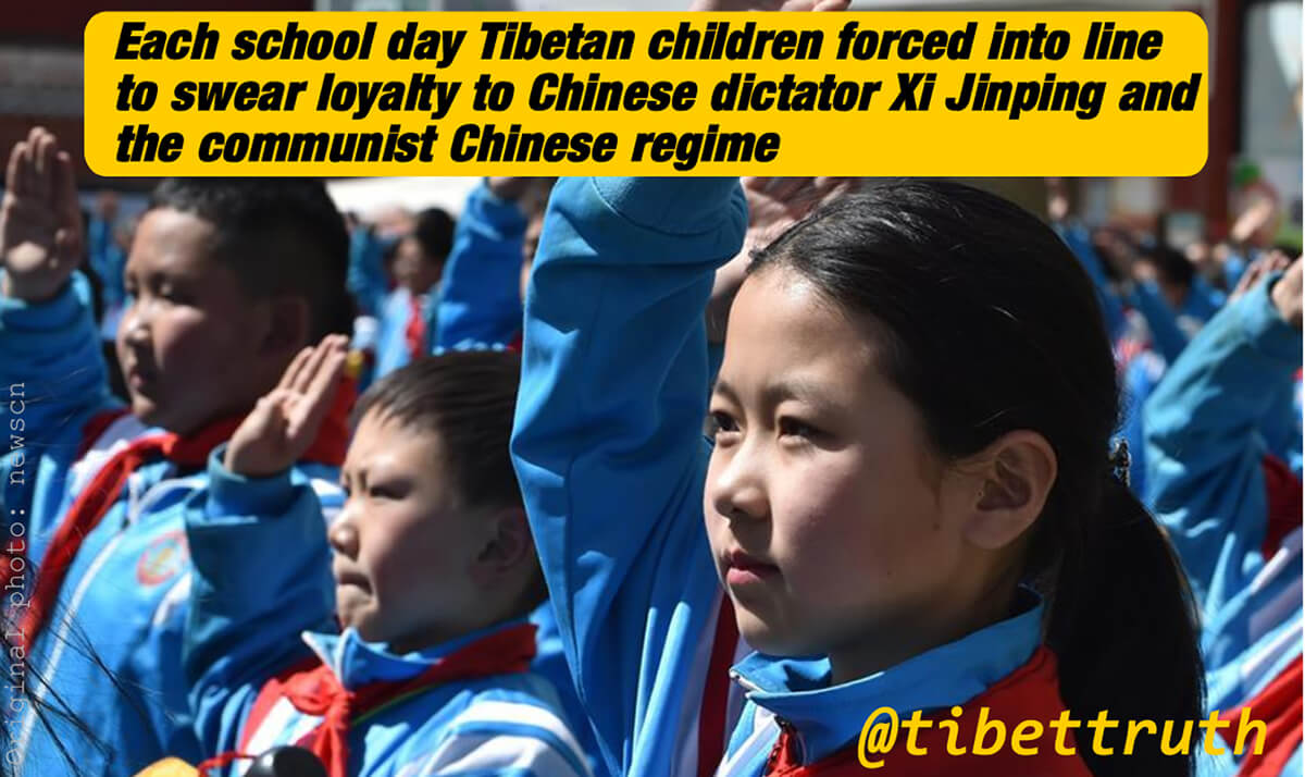 China's Psychological Assault On Tibet's Children