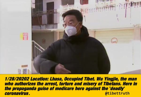 Tibetans Being Hit By Deadly Virus That Carries A Gun And Speaks Chinese!