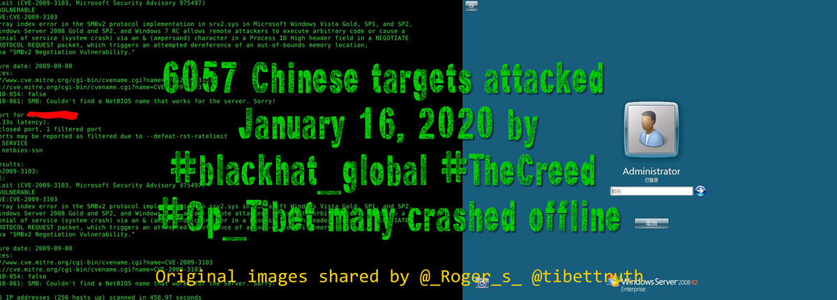 Anonymous Crash Chinese Sites In Online Attack Supporting Tibet