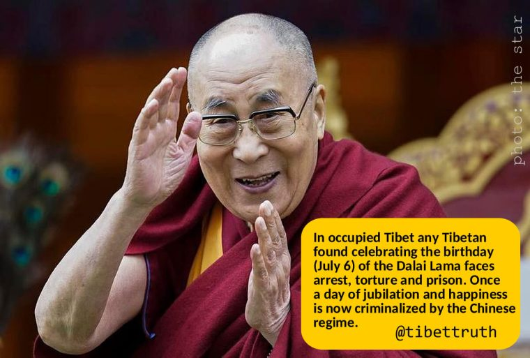 There's Only One Party In Tibet And That's Not For The Dalai Lama's Birthday!
