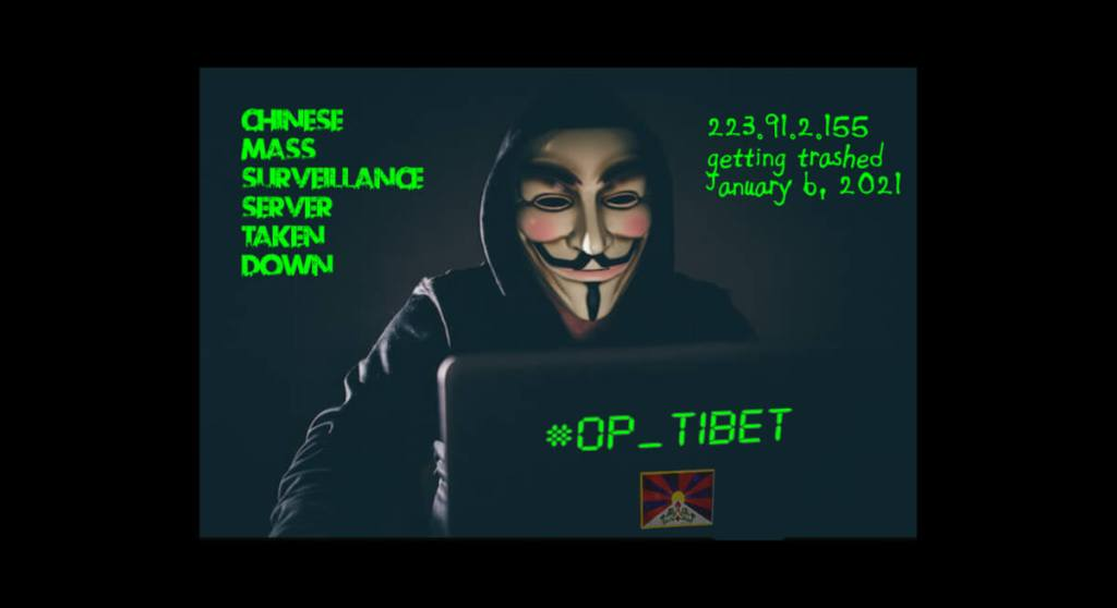Anonymous' Operation Tibet Launches New Year Attack On Chinese Mass-Surveillance Server