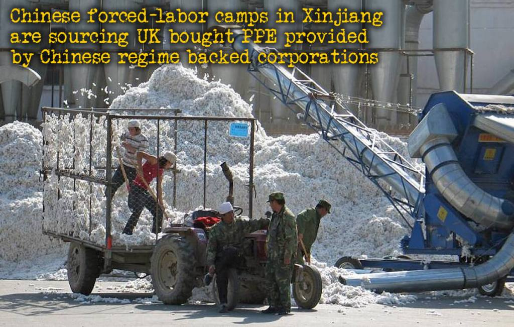 UK Protecting Its Citizens With China's Forced-Labor PPE
