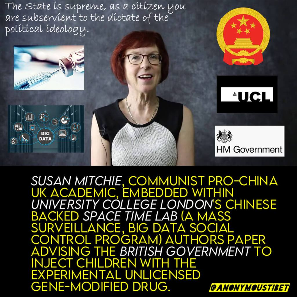 Pro-China UK Behaviorist Endorses Injecting Children With Experimental, Unlicensed Gene-Modified Drugs