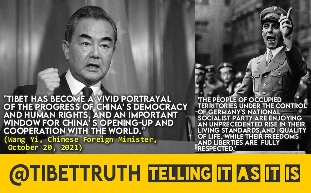 Behind The Words Tibet Remains In Chains And Terrorized